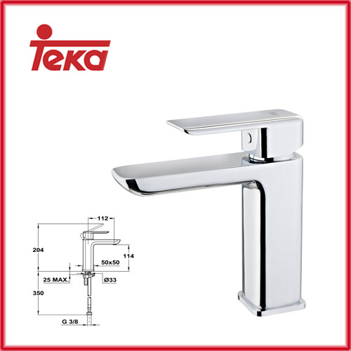 27008bc2c5b TEKA Formentera за мивка, нисък, стандартна ръкохватка - Б.185.Х